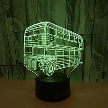 WULDOP Night Light 3D Illusion Lamp for Kids