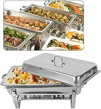 WUPYI2018 9L Chafing Dish Food Warmer Stainless