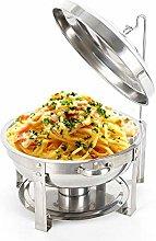 WUPYI2018 Chafing Dish Food Warmer, 7.5 L