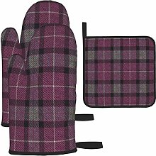 wusond Oven Mitts and Pot Holders Set,Classic