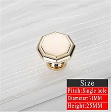 WUTONG Furniture handle, 5pcs Gold Door Handles