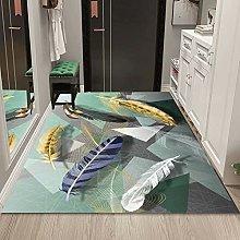 WuTongYu 3D Printed Animal Series Carpet Feather