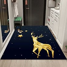 WuTongYu 3D Printed Cartoon Fawn Carpet Home