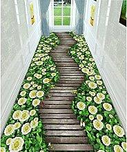WuTongYu 3D Printed Corridor Carpet Hotel