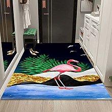 WuTongYu Cartoon Animal Small Fish Print Carpet
