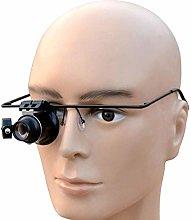 WUYUESUN 20X Times LED Light Eye Mask Glasses