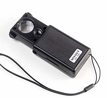WUYUESUN Glass Telescopic Magnifier with LED Light