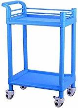 WUYUESUN Trolley-Double Beauty Salon Cart