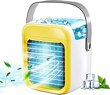 WWDS Portable Air Conditioner Fan, Rechargeable