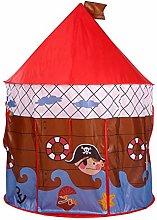 WWJJLL Childrens Teepee Tent, Portable Pop Up