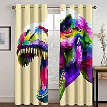WWJNF Blackout Curtains 118 X 106.3 Inch Color