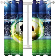 WWJNF Blackout Curtains 94.4 X 90.5 Inch Creative