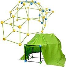 WWmily 87PCS/SET Luminous Kids Fort Building Kit