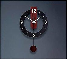 WWWFZS Wall clock pendulum, Living Room Kitchen