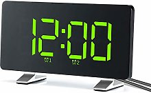 WWWL Alarm Clock Alarm Clocks for Bedrooms with FM