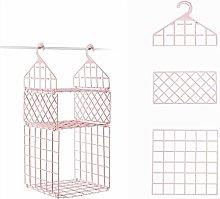 WWWL Shelf Basket Bedroom Wardrobe Organizer