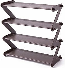 WWWL shoe rack 4 layers Simple Stainless Steel
