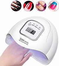 WXGY 120W UV LED Nail Lamp,Nail Dryer for All Gels
