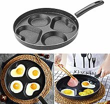 WXGY Non-Stick Induction-Safe 4-Cup Egg