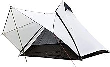 WXHHH Camping Teepee Tent Yurt Tent with Screen 4