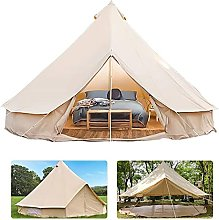 WXHHH Tent Canvas Tent with Stove Hole Cotton