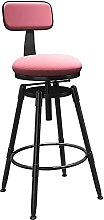 WXking Bar Stool Adjustable Height with Back,