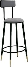 WXking Bar Stool with Back Support, Dining Chairs,