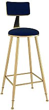 WXking Bar Stool with Gold Legs,Kitchen Counter