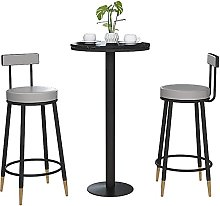 WXking Bar Stools Set of 2 with Velvet Covered