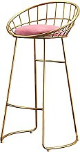 WXking Bar Stools with Back and Footrest, Velvet