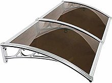WXQ Patio Porch Awning Shelter Door Canopy,