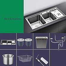 WXXWJ Kitchen Sink Household Sink Wash Basin