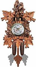 WXYNT Cuckoo Clock,Wooden Retro Quartz Wall