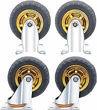 WY-YAN 4 Castor Wheels,Heavy Duty Castors Swivel
