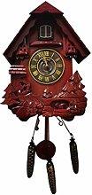 WyaengHai Cuckoo Clock Quartz Clock Cuckoo Wall