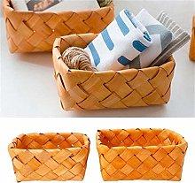 WYB Hand Knit Rectangular Fruit Basket Bread