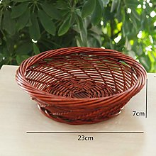 WYB Handmade Wicker Weave Storage Basket Home