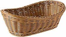 WYB Oval Wicker Woven Basket Bread Basket Serving