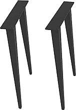 WYBW Furniture Support Feet,Metal Table Legs Cone