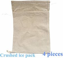 WYCY Cotton Crushed Ice Bag Crushed Ice Mallet