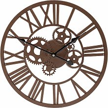 Wyegate Outdoor Garden Wall Clock Large