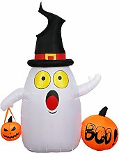 WYFDM Halloween Party LED Light Inflatable Ghost