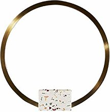 Wyh LED Desk Ring Light Lamp Round Simple Table