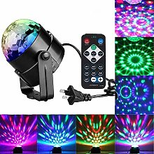 WYH Safety Disco Lights Remote Control Light