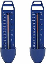 WYJBD 2pcs Floating Glass Thermometer Swimming