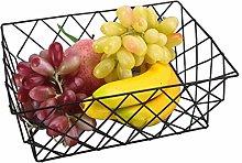 WYJBD Fruit Storage Basket - Metal Wire Fruit