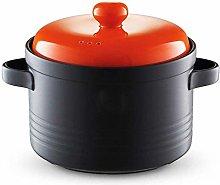 WYJW Casserole Pot Terracotta Stew Pot Ceramic