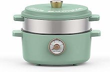 WYJW Electric Multi-Cooker 2 L Slow Cooker with 3