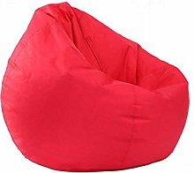 WYJW Sofa Cover Bright Solid Large Bean Bag Soft