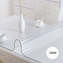 WYMF Easy to wipe clean PVC tablecloth, waterproof